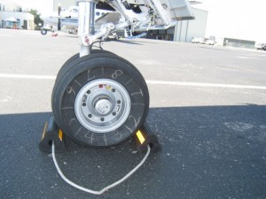 The nosewheel